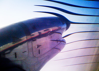 Turbo Prop Photo Phenomenon Captured with iPhone