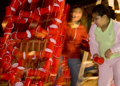 Cascading Cups