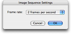 Image Sequence Settings