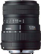 Sigma 55-200mm Lens