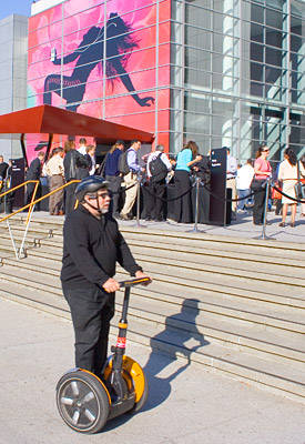 Woz on a Segway